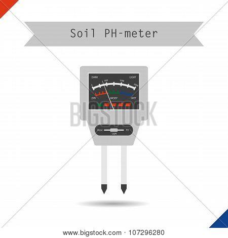 Icon Ph Meter For Soil