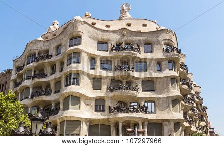 Casa Mila - Barcelona Spain