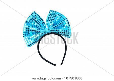 Children Hoop With A Large Bow. Accessories For The Party