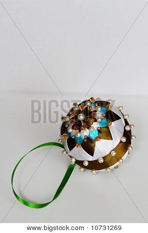 Handmade, Brown Christmas Tree Bauble