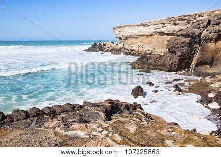 La Pared Beach On Fuerteventura South West Coast