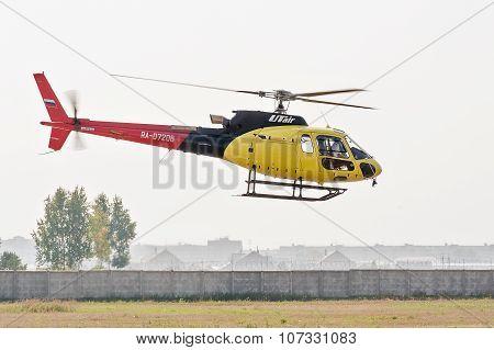 Piloting of Aerospatiale AS-350B3e Ecureuil
