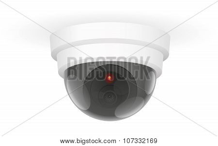 Observation Camera Ceiling White