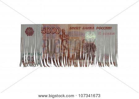 ruble cut