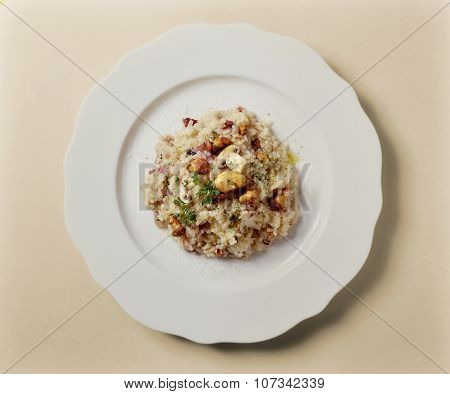 Risotto With Mixed Mushrooms