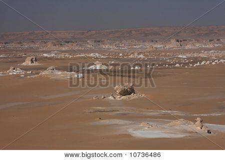 Lybian desert landscape