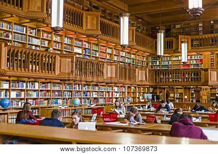 Inside The Library Of The University Of Leuven, Belgium 2