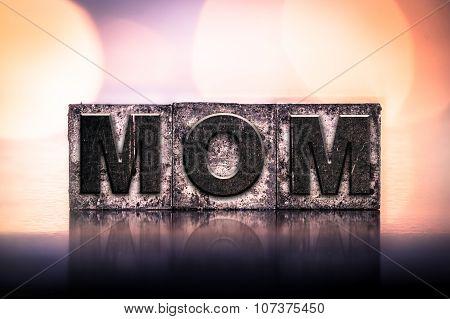 Mom Concept Vintage Letterpress Type