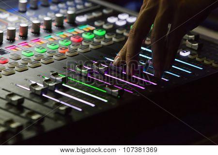 Studio Mixer Detail