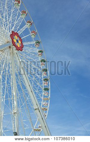 Giant Ferris Wheel In Prater Park - Vienna