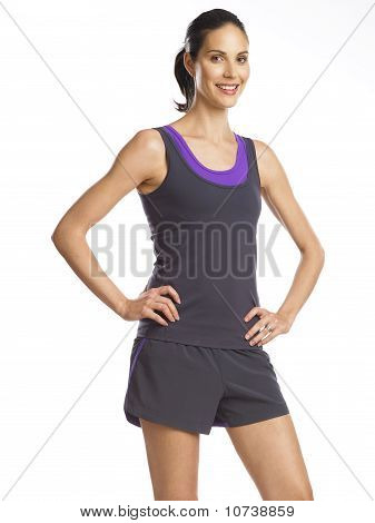 Beautiful And Determined Young Woman Ready For Sports 2