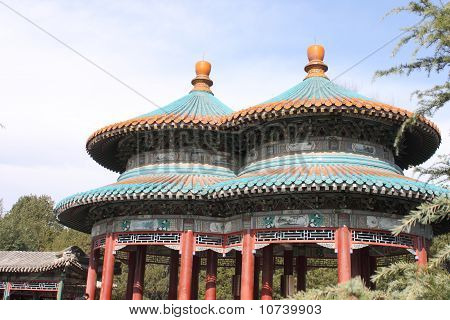 Double-Circle Longevity Pavilion