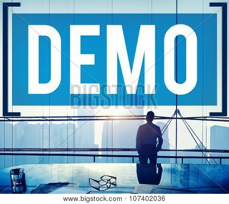 Demo Preview Trailer Trial Ideal Concept poster
