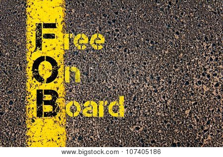 Business Acronym Fob As Free On Board