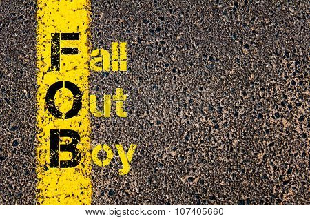 Business Acronym Fob As Fall Out Boy