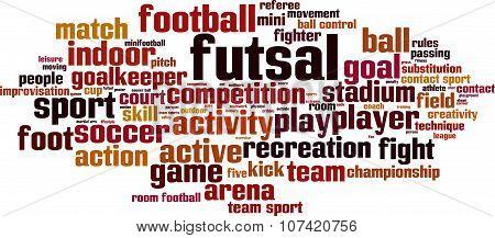 Futsal Word Cloud