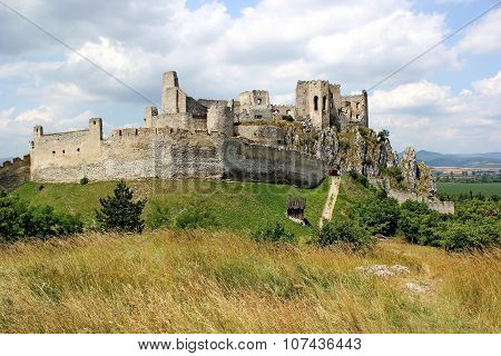 ruins of castle Beckov, Slovakia