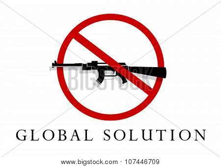 the concept of a global solution.