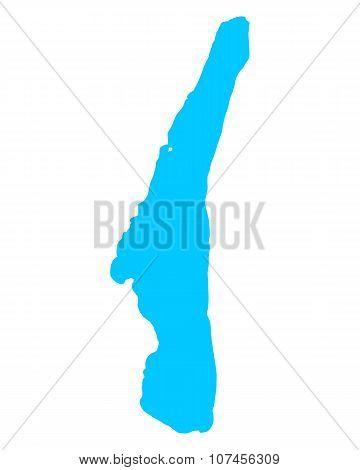 Map Of Lake Starnberg