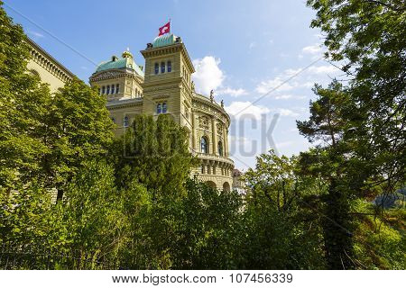 The Government Building In Bern, Switzerland