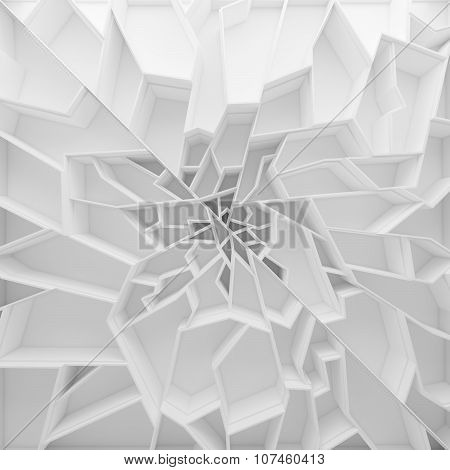Geometric color abstract polygons wallpaper