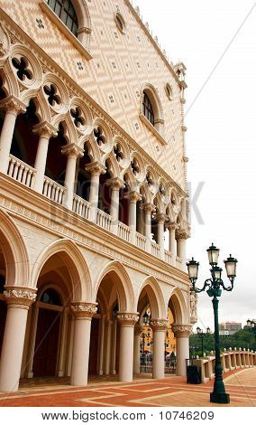 Venetian hotel at Macau