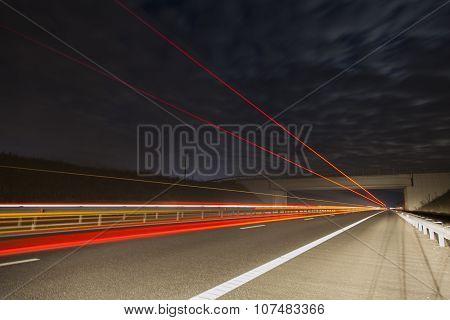 Bridge On A Highway