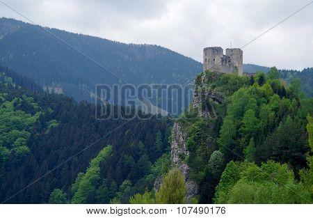 The Castle Of Strecno