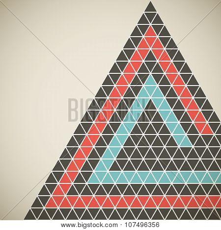 Triangle_background_retro_design_poster_template