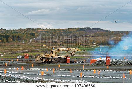 Armoured Deminer Bmr-3M