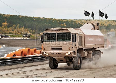 Freight Military Vehicle Mzkt-600100