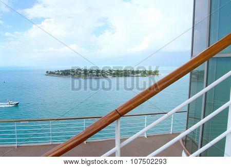 Cruise vacation scenery