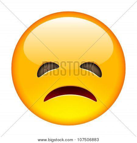 Grumpy Emoticon