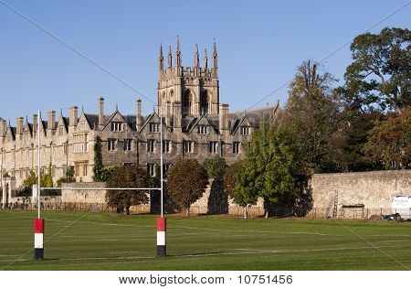 Rugby Goal And College