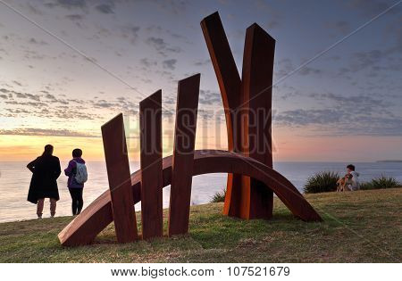 Sculpture By The Sea -the Bridge