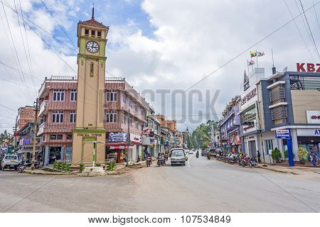 Purcell Tower In The  Town, Pyin Oo Lwin
