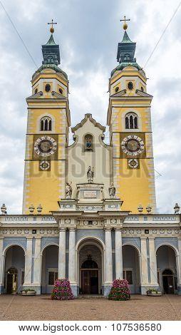 Cathedral Of Santa Maria Assunta And San Cassiano In Bressanone..