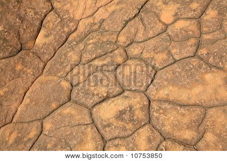 pattern of cracked seamless rock texture