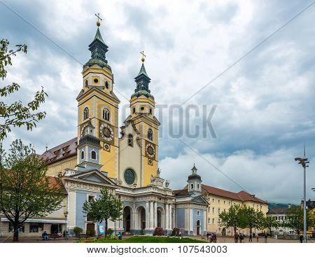 Cathedral Of Santa Maria Assunta And San Cassiano In Bressanone.