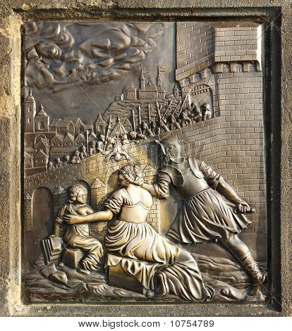 St. John Of Nepomuk Bronze