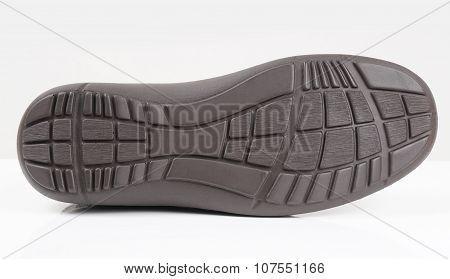 rubber sole of a shoe
