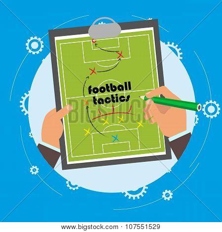 Explanation Of The Team Football Tactics