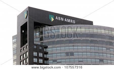 Abn Amro Bank In Amsterdam