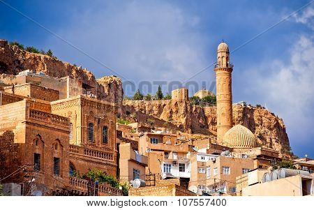 Old Town Of Mardin, Small Town Near Diyarbakir On Syrian Border In Turkey