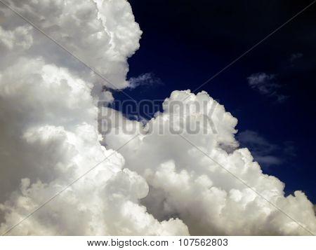 Cloud On The Dark Sky