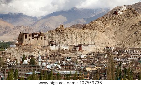 Leh Palace - Namgyal Tsemo Gompa - Leh - Ladakh