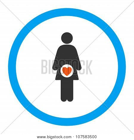 Fertility Rounded Vector Icon