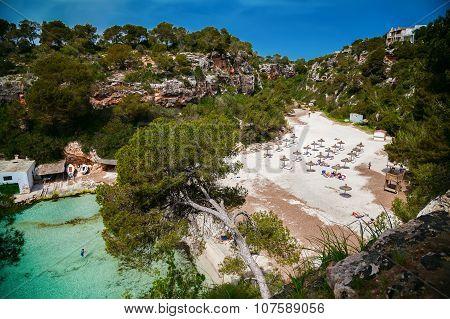 Beautiful Bay Of Mallorca - The Beach Cala Pi