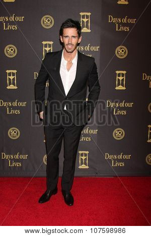 LOS ANGELES - NOV 7:  Brandon Beemer at the Days of Our Lives 50th Anniversary Party at the Hollywood Palladium on November 7, 2015 in Los Angeles, CA