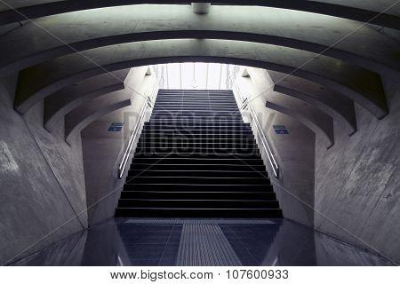 Famous train station Guillemins
